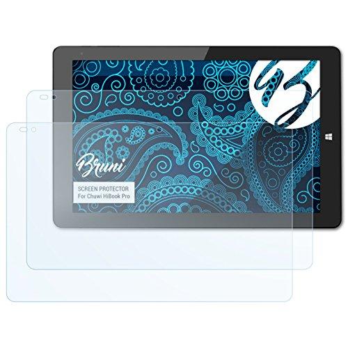 Bruni Schutzfolie kompatibel mit Chuwi HiBook Pro Folie, glasklare Displayschutzfolie (2X)