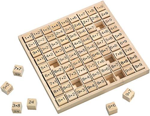 HABA Lernspielzeug aus Holz 133006 Wehrfritz Multiplikationstabelle