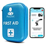 PocDoc Outdoor - Conjunto de Primeros Auxilios Inteligente con aplicación Gratuita (iOS y Android) - Viajes, Deportes y...