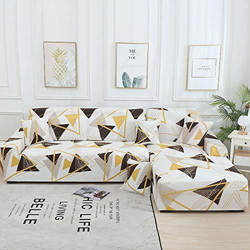 Funda de sofá con Estampado Floral Toalla de sofá Fundas de sofá para Sala de Estar Funda de sofá Funda de sofá Proteger Muebles A18 3 plazas