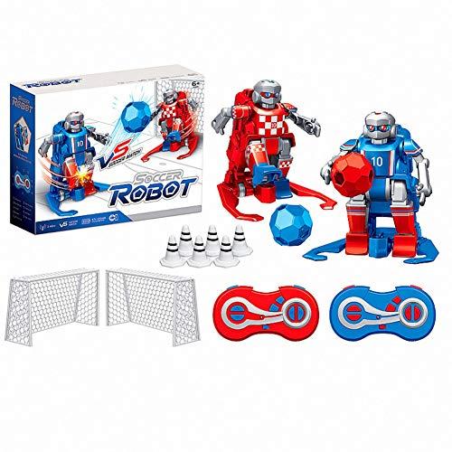 TEEKOO 2,4 GHz RC Fußball Roboter Spielzeug, Drahtlose Fernbedienung Zwei Fußball Roboter Spiel Spielzeug Für Kinder