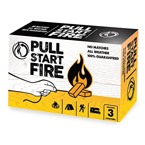 Pull Start Fire Pull String Firestarter (3 Pack)