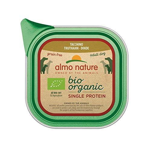 Almo Nature Almo Nature Bio-Organic Monoproteico- Cibo Umido per Cani Adulti al Tacchino - 1.86 kg