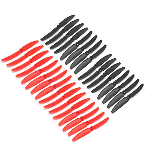 RAYCorp 5030 5x3 Maxi Pack of 32 Propellers(16 CW, 16 CCW) Genuine 5-inch Quadcopter and Multirotor Props + Battery Strap