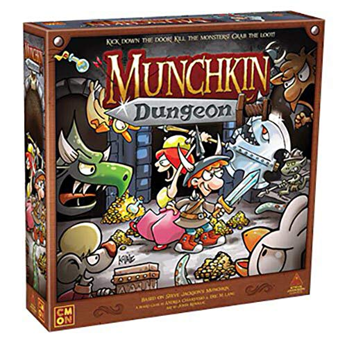 Cool Mini or Not Munchkin Dungeon - Juego de mesa