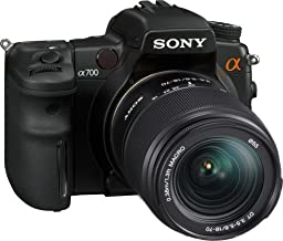 Sony Alpha A700K 12.24MP Digital SLR Camera with 18-70mm f/3.5-5.6 Aspherical ED Lens