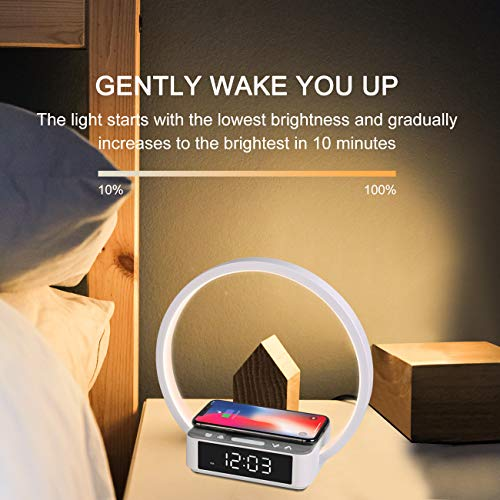 WILIT Luces-despertador