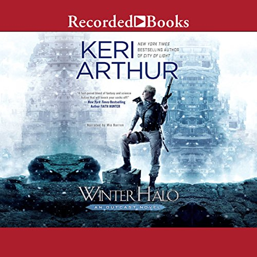 Winter Halo audiobook cover art