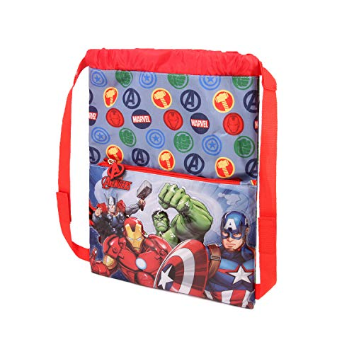 Karactermania The Avengers Force-Strap Turnbeutel Bolsa de Cuerdas para el Gimnasio 41 Centimeters Multicolor (Multicolour)