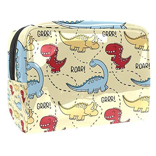 Trousse de toilette de voyage étanche Motif tigre dessiné à la main Multicolore Couleur 8 18.5x7.5x13cm/7.3x3x5.1in
