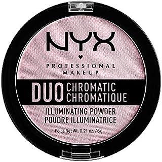 NYX PROFESSIONAL MAKEUP Duo Chromatic Illuminating Powder, Lavender Steel, 0.21 Ounce