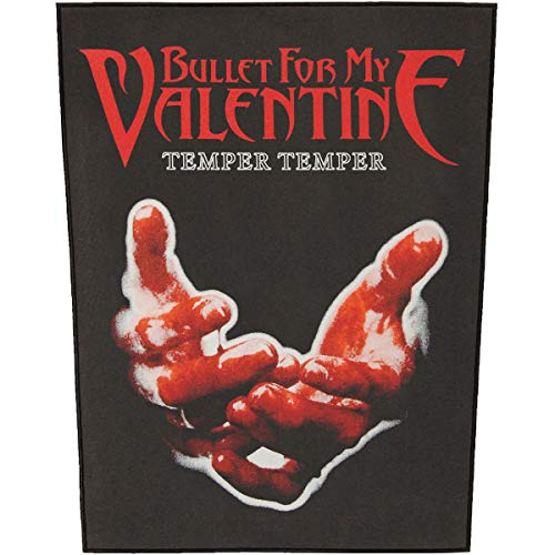Rock Off Bullet for My Valentine - Temper Temper (Toppa) Merchandising Ufficiale