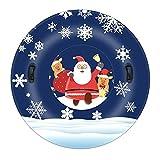 JTLB Trineo inflable con manguitos de nieve inflables para la familia