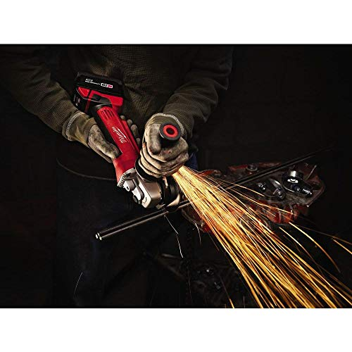 Milwaukee M18 18-Volt Lithium-Ion Cordless 4-1/2 in. Cut-Off/Grinder (Tool-Only)