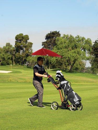 Sport-Brella Versa-Brella 4-Way Swiveling Sun Umbrella (Midnight Blue), 38x39
