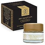 MelieMelie - Crema antienvejecimiento efecto botox, 50 ml, crema hidratante facial, crema reafirmante para cara y cuello con ingredientes activos biotecnológicos