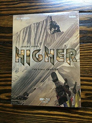 Jeremy Jones Higher Snowboard DVD und Blu-Ray 2-Disc Set