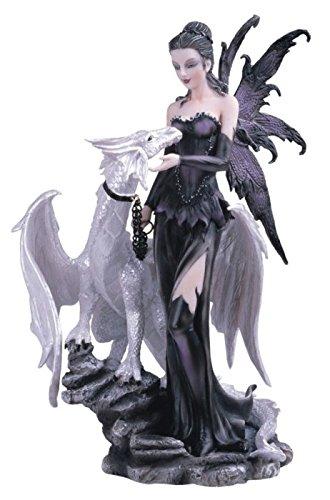 George S. Chen Imports SS-G-91466 - Figura Decorativa con dragón Blanco