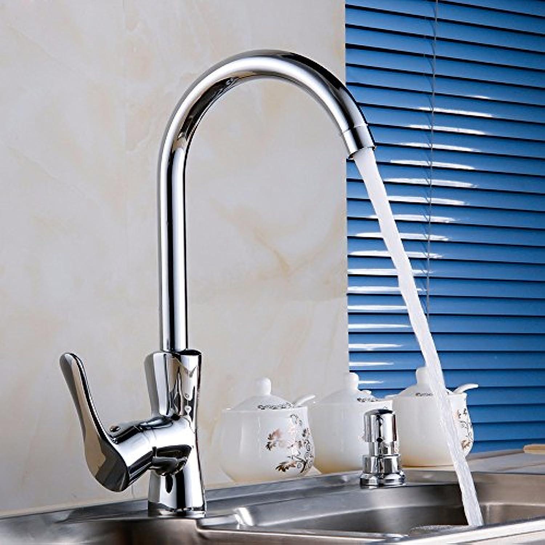 Gyps Faucet Waschtisch-Einhebelmischer Waschtischarmatur BadarmaturKüche Wasserhahn hoch - den Hahn voll Kupfer Turm Mischen Wasserhahn Drehen Biegen,Mischbatterie Waschbecken