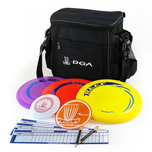 DGA Disc Golf Starter Set, Black