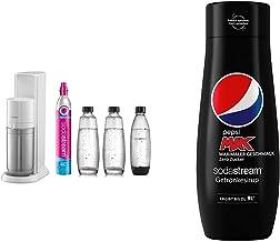 sodastream Pack Machine à Eau Pétillante et Soda 2 en 1 Duo Concentré Pepsi Max, 440ml
