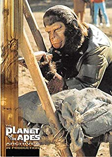 King Caesar Roddy McDowall trading card Battle for Planet of the Apes Archives trading card 1999#89