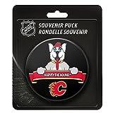 Calgary Flames Team Mascot NHL Souvenir Puck -
