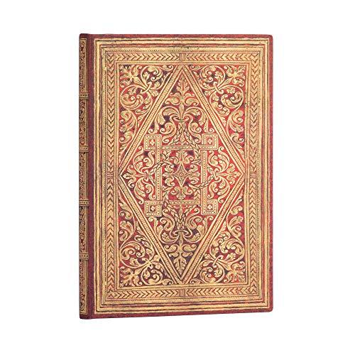 Paperblanks Cuadernos de Tapa Dura Senda Dorada | Liso. | Midi (130 × 180 mm)