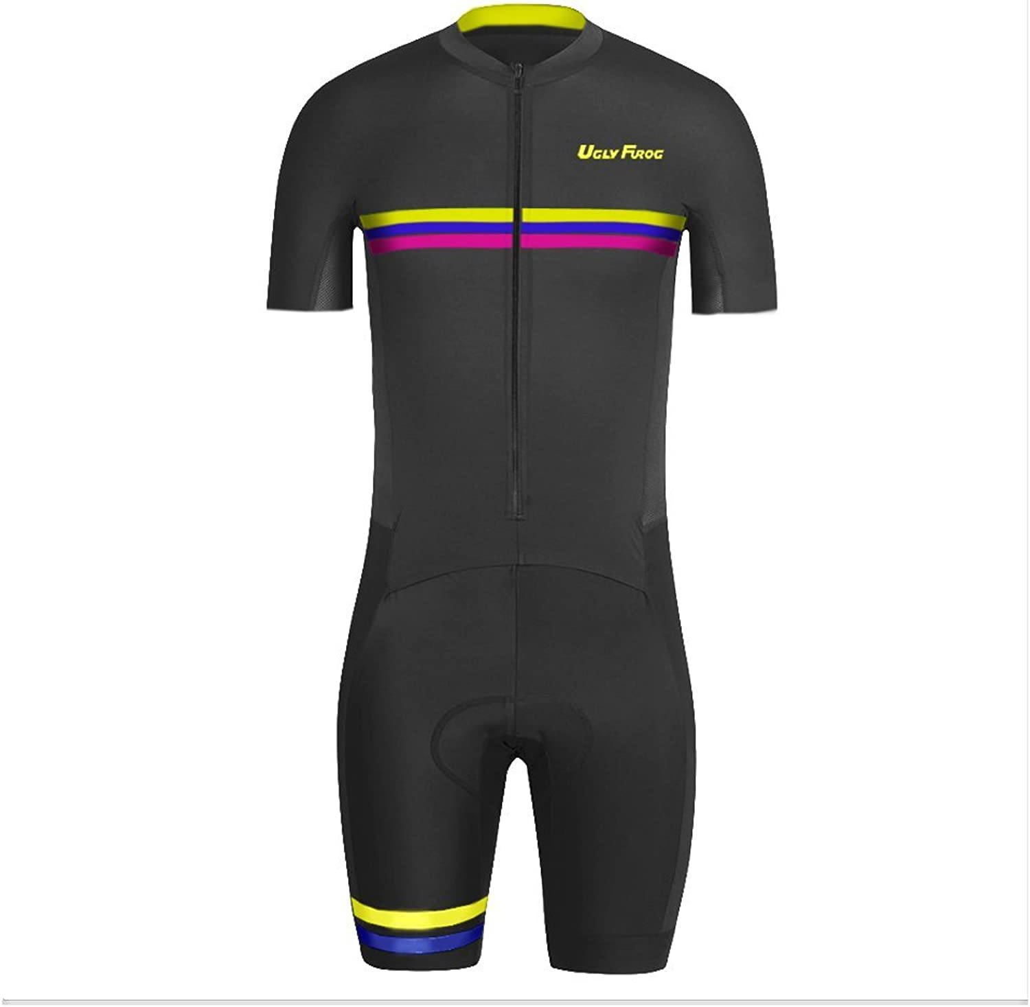 Uglyfrog SKS06 2018 New Men's Breathable Summer Short Sleeve Cycling Skinsuit Outdoor Sports Wear Triathon Clothing