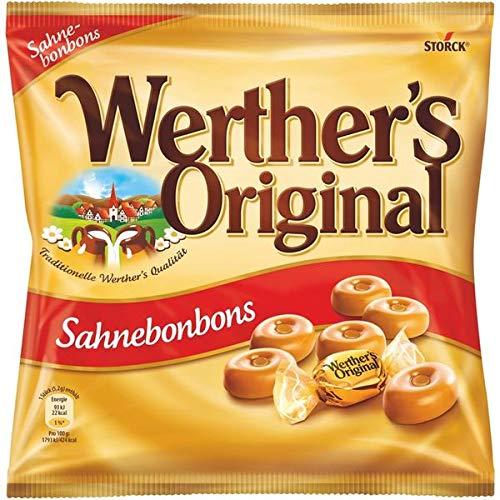15 Beutel a 120g Werther's Original Sahnebonbons orginal Bonbon