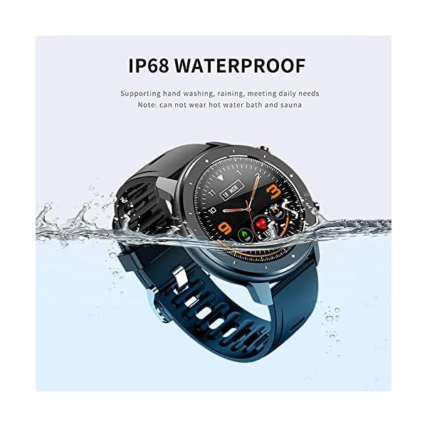 Reloj Inteligente Hombre, Smartwatch con Pantalla táctil, Fitness Tracker Impermeable IP68, Reloj Pulsometro Deportivo… 5