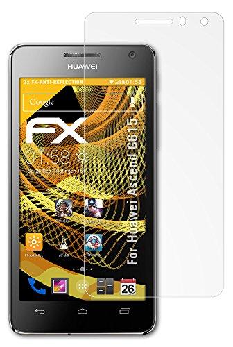 Displayschutz@FoliX atFoliX FX-Antireflex–Pellicola Proteggi Schermo antiriflesso per Huawei Ascend G615, Confezione da 3