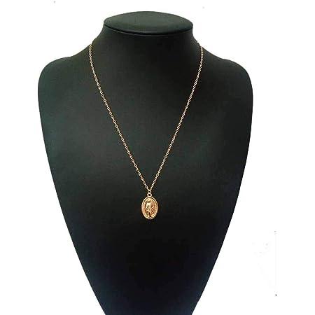 Jovono Nostra Signora collane moda collana catena gioielli per donne e ragazze (oro)