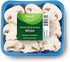 Fresh Brand – Sliced White Mushrooms, 8 oz