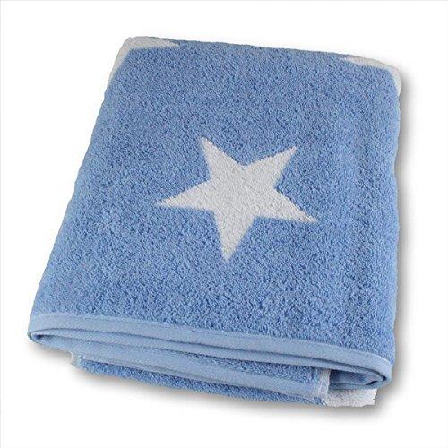 Cawö Home Handtücher Big Stars 524 hellblau - 16 Saunatuch 70x180 cm