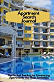 Apartment Search Journal: The Perfect Tracker for Comparing Apartments and Their Amenities; Journal - 6' x 9' - 100 Pgs - Glossy Cover - Theme - Yellow Apartment + Pool