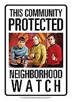 Star Trek Community Watch ブリキ看板 ビンテージ風 輸入品 30×20cm