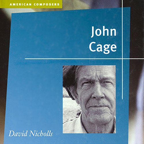 John Cage audiobook cover art