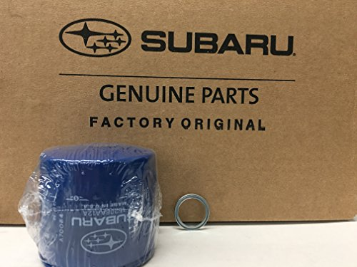 Price comparison product image 1990-2018 OEM Factory Subaru Engine Oil Filter & Crush Gasket 15208AA12A 11126AA000 Genuine