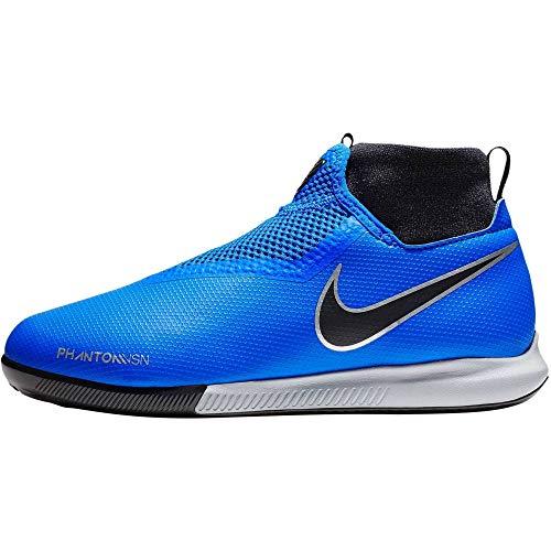 Nike Unisex-Kinder JR Phantom VSN Academy DF IC Multisport Indoor Schuhe, Blau (Racer Blue/Racer Blue-Black 400), 35.5 EU