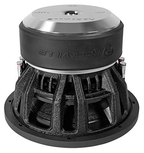 """Rockville Destroyer 12D1 12"""" Competition Car Audio Subwoofer w/USA Voice Coils!"""