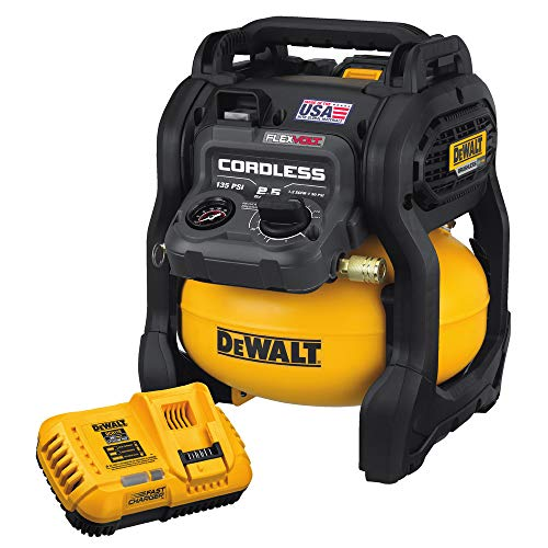 Dewalt DCC2560T1R FlexVolt 60V MAX 2.5 Gal. Cordless Air Compressor Kit (Renewed)