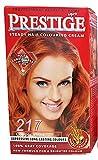 Vip's prestige crema colorante para el cabello, color fulgor cobrizo 217