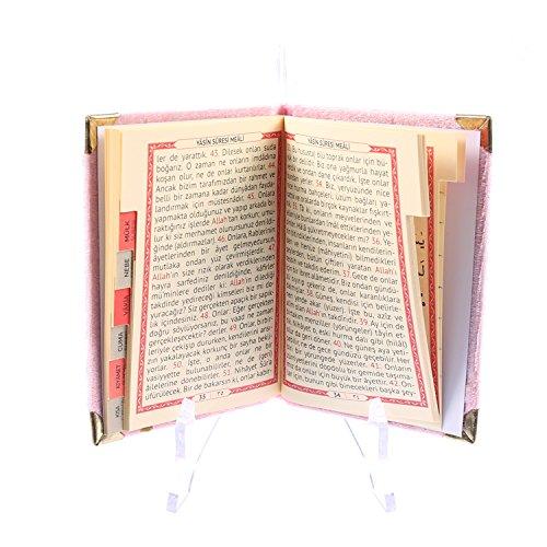 Gebetsbuch Rosa ( Yasin'i Şerif ) 7x10,5 cm