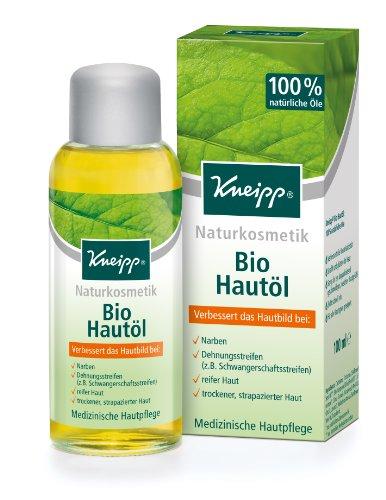 Kneipp - Huile bio - Produit cutané infaillible avec formule préservée - 100 ml