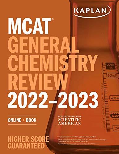 MCAT General Chemistry Review 2022-2023: Online + Book (Kaplan Test Prep)