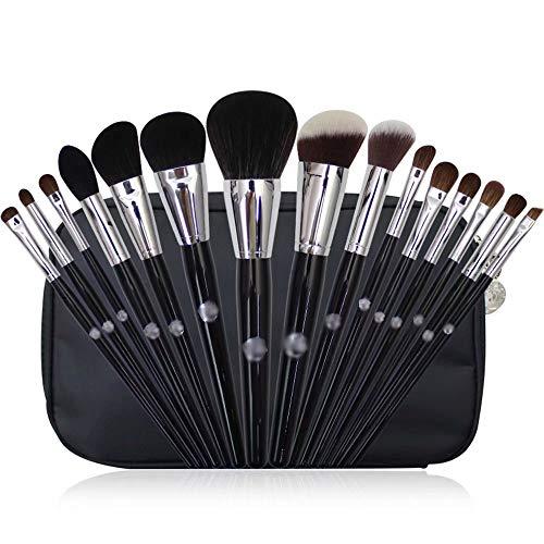 Pinceaux de Maquillage Professional 15 pièces Pinceaux de Maquillage Set Foundation Blush Poudre Fard à paupières Poudre pour Le mélange Pinceaux pour Le mélange Kit de Pinceau cosmétique