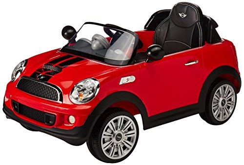 Prinsel – Auto Eléctrico Mini Cooper S, color Rojo (1214)