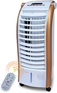 ChengLao-- Aire acondicionado portátil: velocidad del viento de cuatro velocidades, suministro de aire completo, filtración múltiple, modo multifuncional humidificación móvil tipo S y refrigeración pr
