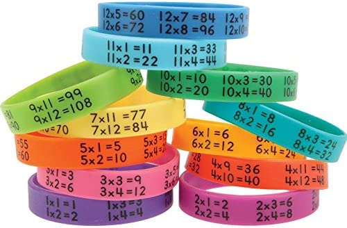 Really Good Stuff 160452 Multiplication Assorte Max Cheap mail order shopping 90% OFF Bracelets Facts